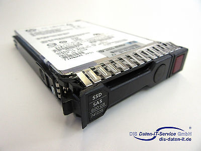 "Hp 800Gb 12G Ssd Sas 2.5"" Hot Plug 741134-003 741165-001 741228 Mo0800Jdvev"