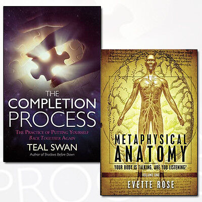 Teal Swan The Completion Process Collection 2 Books Set Metaphysical Anatomy NEW