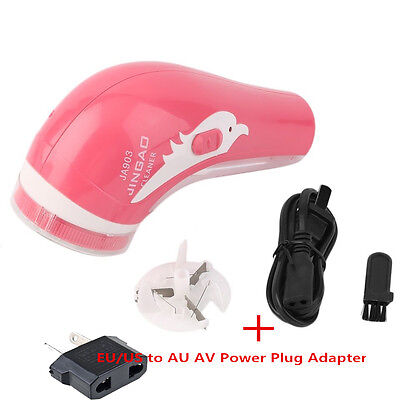 Portable Electric Clothes Lint Pill Fluff Remover Fabrics Sweater Fuzz Shaver KB