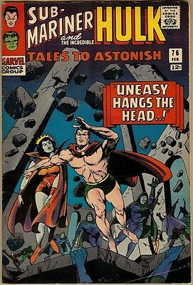 Tales To Astonish #76 - VG/FN