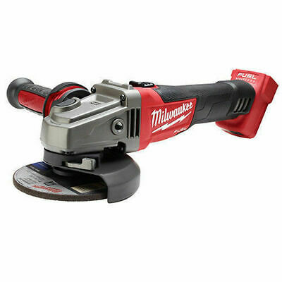 """Milwaukee M18 2781-20 4-1/2"""" / 5"""" Grinder, Slide Switch Lock-On (Tool Only) NEW"""