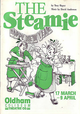 The Steamie Oldham Coliseum Theatre Programme 1988