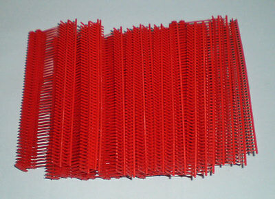 "5000 Red 1"" Clothing Garment Price Label Tagging Tagger Gun Barbs Fasterners"