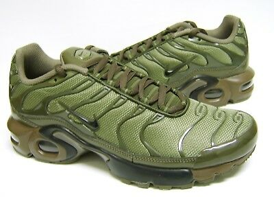 first rate 0ae59 5193e Nike Air Max Plus GS Tn Tuned Cargo Olive Green Khaki Juniors Girls Boys  Womens