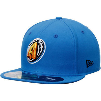 Akron Rubberducks New Era Authentic Road 59FIFTY Fitted Hat - Blue