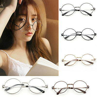 Fashion Vintage Retro Full Frame Clear Lens Glasses Nerd Geek Eyewear Eyeglasses