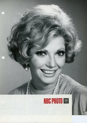 Ruta Lee Pretty Smiling Portrait High Rollers Game Show 1975 Nbc Tv Photo