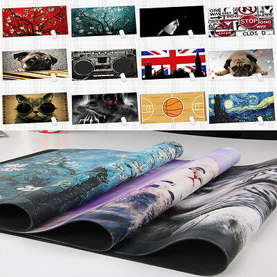 Custom Design Extended Gaming Wide Large Computer Mouse Pad Big Size Desk Mat