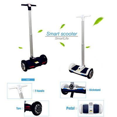 Smart Handle Standing Electric Scooter 2 Wheels With Remote Control