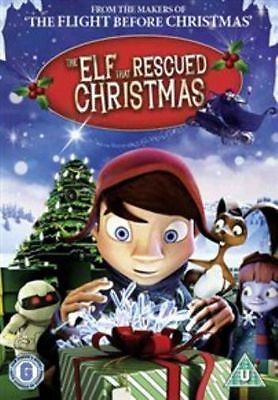 The Elf That Rescued Christmas New Region 2 Dvd