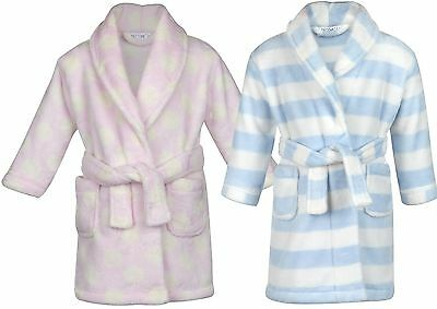 Babytown Baby Velvety Soft Patterned Dressing Gown