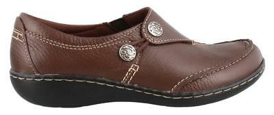 Clarks Ashland Lane Q  On Shoe Leather Womens Casual Shoes