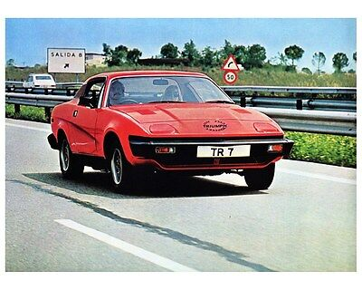 1979 Triumph TR7 Coupe Factory Photo ca5829