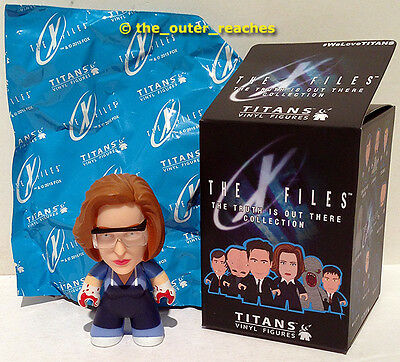 """X-Files The Truth is Out There TITANS Vinyl 3"""" Figure DANA SCULLY Variant/Chase"""