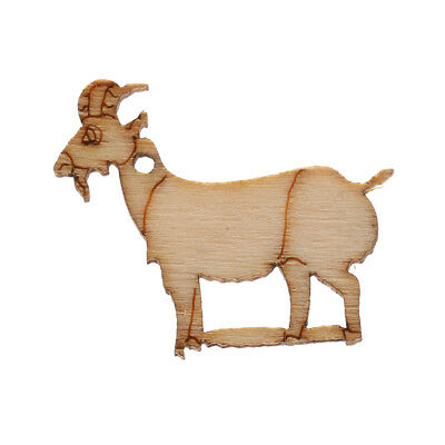 10 Rustic Wood mini chic Goat Wedding Table Scatter Decoration Crafts