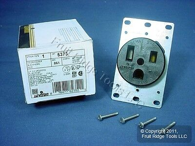 Leviton Industrial Single Power Receptacle Outlet NEMA 5-50R 50A 125V 5373 Boxed