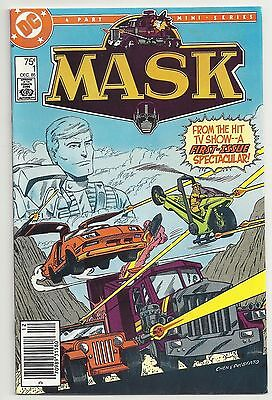 MASK 1 DC Comics 1985 Based on TV Show