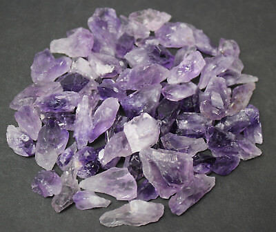 Bulk Lot of 12 Mini Raw, Rough Amethyst Points (Crystal Point)