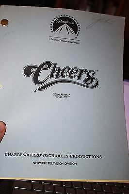 Cheers Original Script Used Marked by  Joyce Berke #220 Home Malone