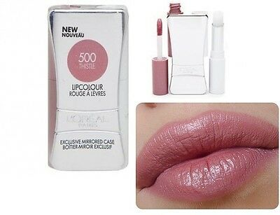 L'oreal Infallible Never Fail Lipcolour -500 Thistle- new