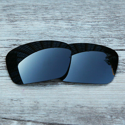 Inew Black Iridium Polarized Replacement lenses for-Oakley fuel cell