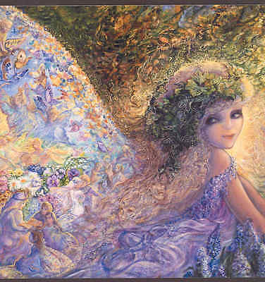 """""""fairy Of The Forest"""" Fantasy Butterfly Fairy Gives Encouragement, Greeting Card"""