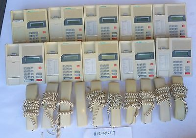 Lot of 8 Nortel Norstar M7100 Ash Meridian Business Telephone Phone Set