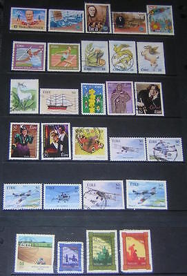 Ireland 2000 commemoratives 28 diff used stamps cv $46.90