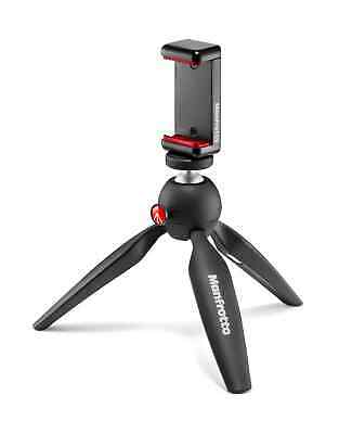 Manfrotto Mini Pixi Table Top Tripod with SmartPhone Clamp