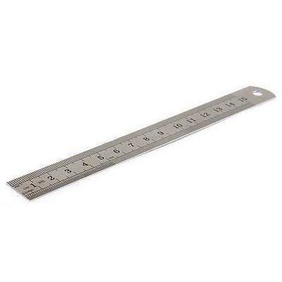 Stainless Steel Measuring Ruler Rule Scale Machinist Tools 15cm Precision