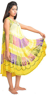 Pack of 10 Kerala Style Summer Mix Designs and Colors Sun Dress