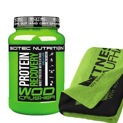 Scitec Nutrition Wod Crusher Protein Recovery 810g Dose + Handtuch