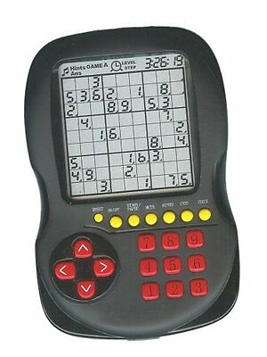 Electronic Sudoku Handheld Game over 10,000 Puzzles
