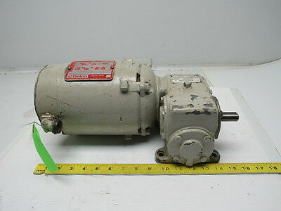 Morse Borg warner 13GCBD Speed Reducer W/Delco 1/4HP 3PH 1745RPM Motor