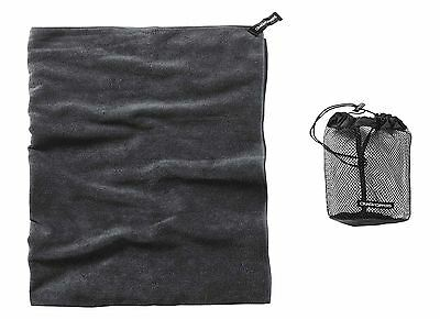 Craghoppers LARGE Microfibre Travel Towel super absorbent pack away