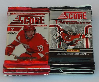Score Nhl Trading Cards Hockey 2011 2012 2013 Lot Of 34 Retail Packs New Sealed