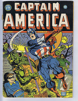 Captain America Comics #17 Timely 1942
