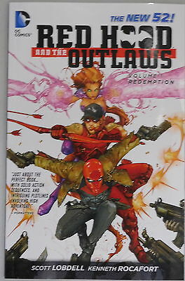 Red Hood and the Outlaws vol 1 Redemption trade paperback DC New 52