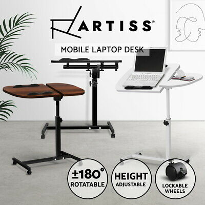 Laptop Desk Stand Bedside Computer Table PC IPAD Mobile Note Book Adjustable