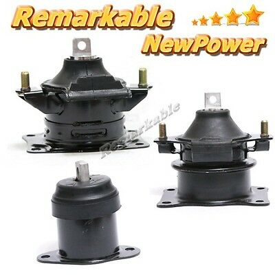 04-08 Fit Acura TSX 2.4L4 3 Engine Motor Rear Right Front /& 3 Auto Trans Mount