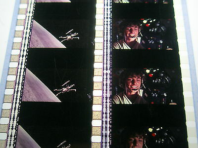 Star Wars - A New Hope 35mm Unmounted Film Cell strips-Luke-Figters