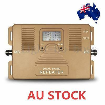 2G 3G 4G Repeater Dual Band 850/2100MHz Mobile Signal Booster AU STOCK