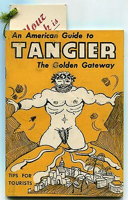 "1952 Tourist Publication: ""An American Guide To TANGIER"" [Great Hercules Cover]"
