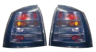 Vauxhall Astra G Mk4 3/5 Door Hatch 1998-2004 Rear Tail Lights Smoked  Pair