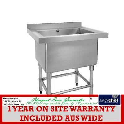 Fed Commercial Stainless Steel Single Deep Pot Sink Extra Large Bowl 770-6-Ssb