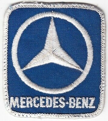 Mercedes-Benz on Blue Twill Patch