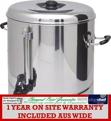 Fed Commercial 30L Hot Water Urn Boiler Tea Coffee Stainless Steel Handles Wb-30