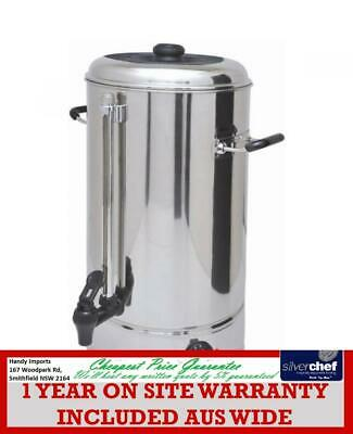 Fed Commercial 20L Hot Water Urn Boiler Tea Coffee Stainless Steel Handles Wb-20