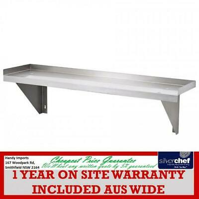 Fed Commercial 300X1500 Stainless Steel Wallshelf Wall Mounted Shelf 1500-Ws1