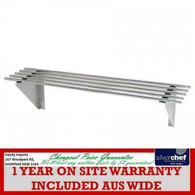 Fed Commercial 300X900 Stainless Steel Pipe Wallshelf Wall Shelf Tube 0900-Wsp1